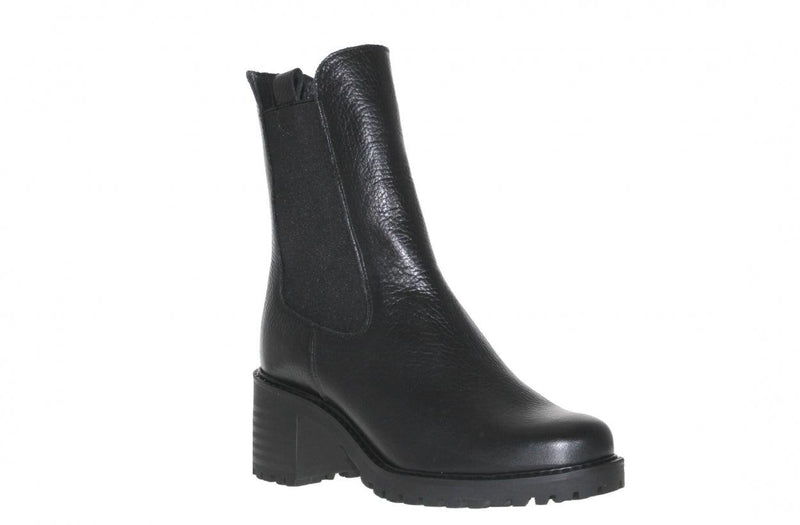 Emily sportive 19-b TV black tumbled leather chelsea boot - black sole