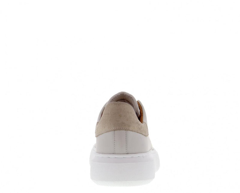 Ingeborg 1-ck bone white leather/beige - off white outsole