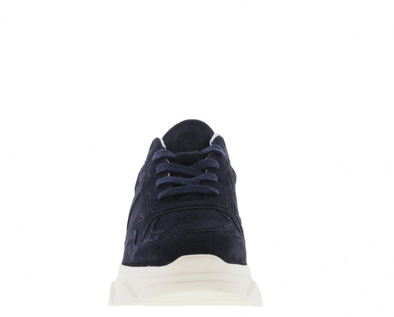 Kady fat 10-bf navy suede jogger - off white sole