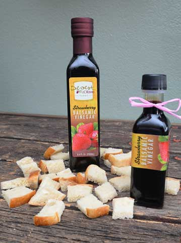 Strawberry Balsamic Vinegar 100ml and 250ml