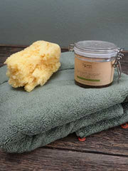 Lime Spearmint Brown Sugar Scrub 12oz