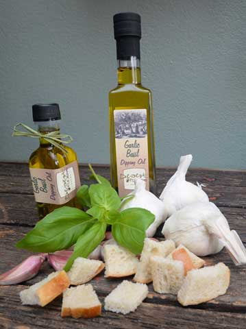 Garlic Basil Dipping Oil 100ml and 250ml