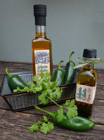 Jalapeño Cilantro Dipping Oil 100ml and 250ml