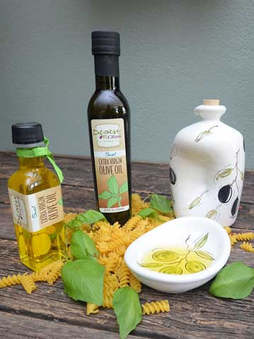 Basil Extra Virgin Olive Oil 100ml and 250ml