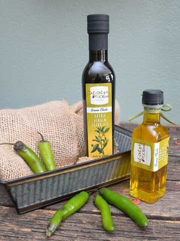 Green Chile Extra Virgin Olive Oil