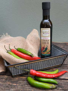 Jalapeño Extra Virgin Olive Oil 100ml and 250ml