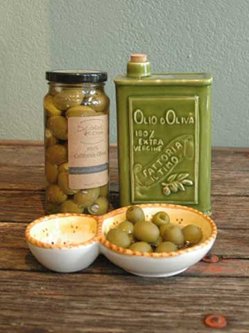 Herb and Garlic Cheese Stuffed Olives