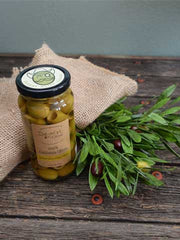 Lemon Citrus Pitted Olives 10oz