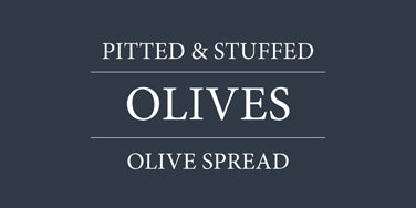 Olives, Pitted & Stuffed, Olive Spread