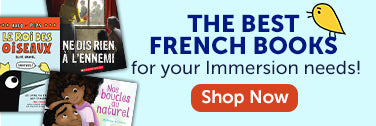 The Best French books for your Immersion needs!