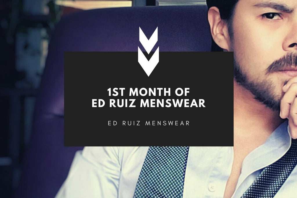 ONE MONTH IN... WHAT'S IN THE ROAD AHEAD FOR ED RUIZ MENSWEAR