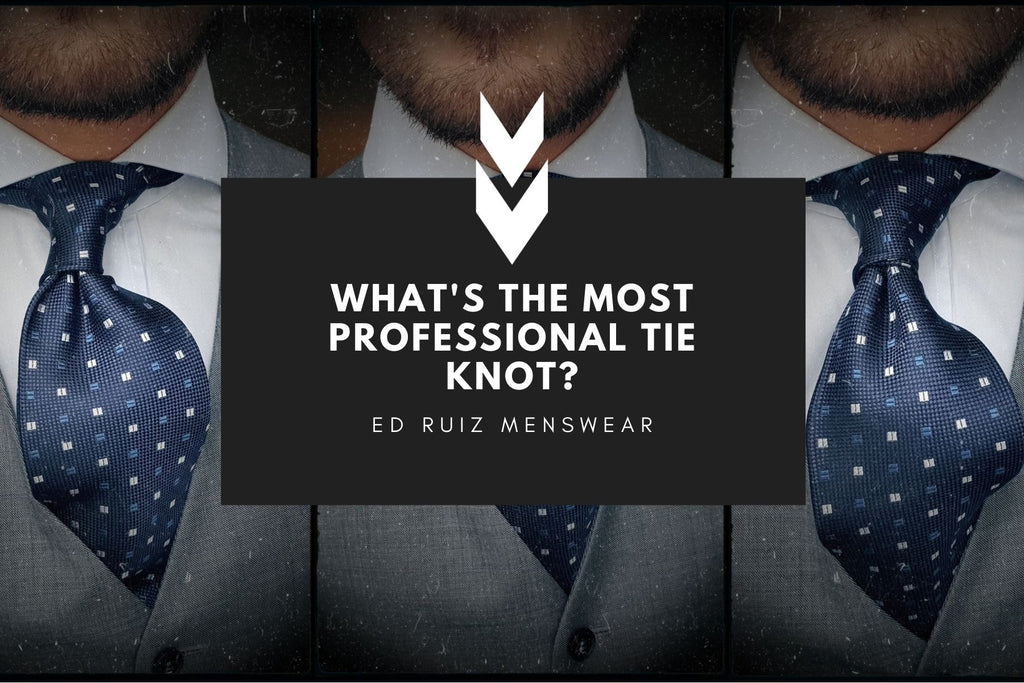 What is the most professional tie knot?