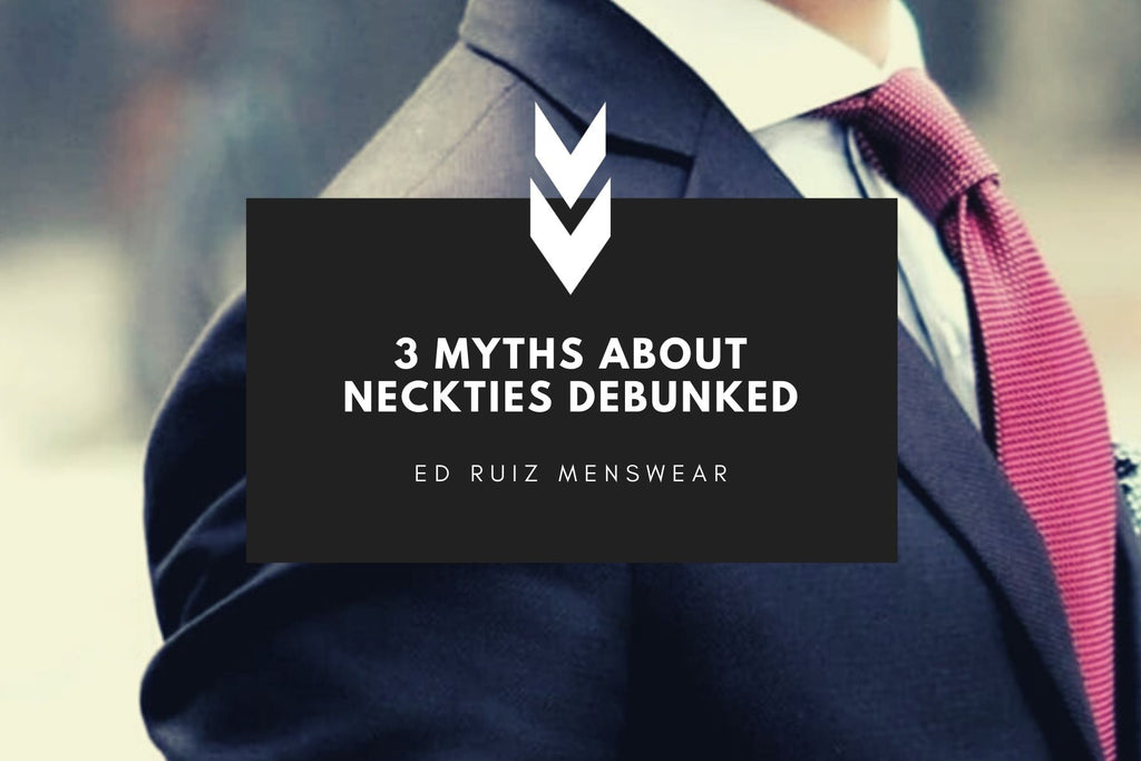 3 Common Myths About Neckties
