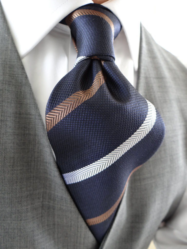 Earth Necktie from Ed Ruiz Menswear Planet Neckties Collection