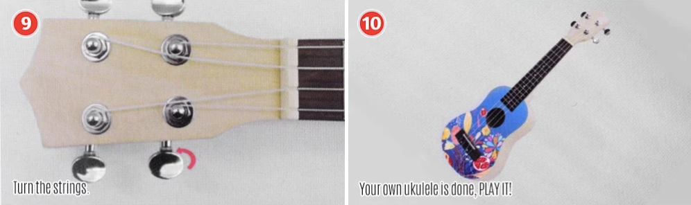Assemble your DIY Ukulele