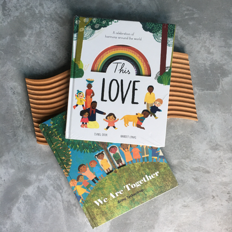 Power of Love Book Bundle: This Love by Isabel Otter & We Are Together by Britta Teckentrup