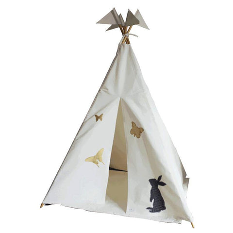 Alice in Wonderland 4-sided Teepee Tent
