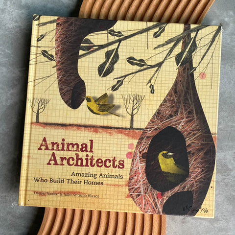 Animal Architects: Amazing Animals Who Build Their Homes by Julio Antonio Blasco