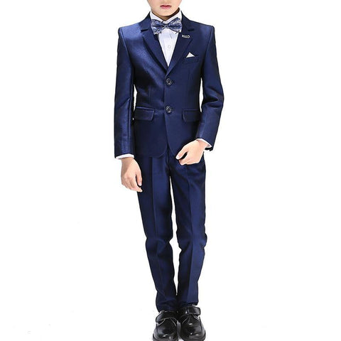 Boys Notched Lapel 5-piece Suit - Fifth Avenue Kids, subsidiary of Frockalicious