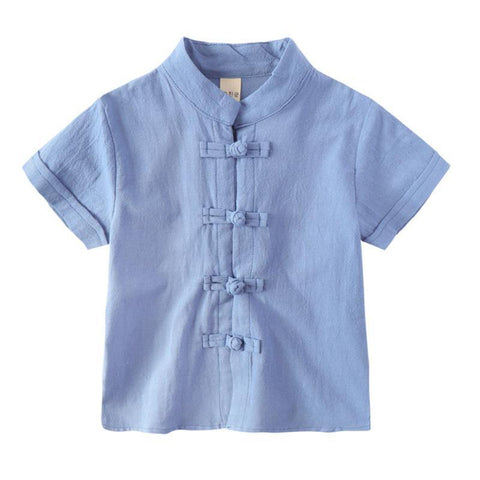 Boys Tang Shirt + Shorts Set - Fifth Avenue Kids, subsidiary of Frockalicious