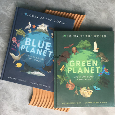 Colours of the World Bundle Set by Moira Butterfield Hardcover