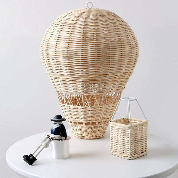 Hot Air Balloon Rattan Handmade