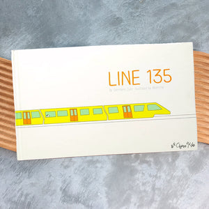 Line 135 by Germano Zullo (Hardcover)