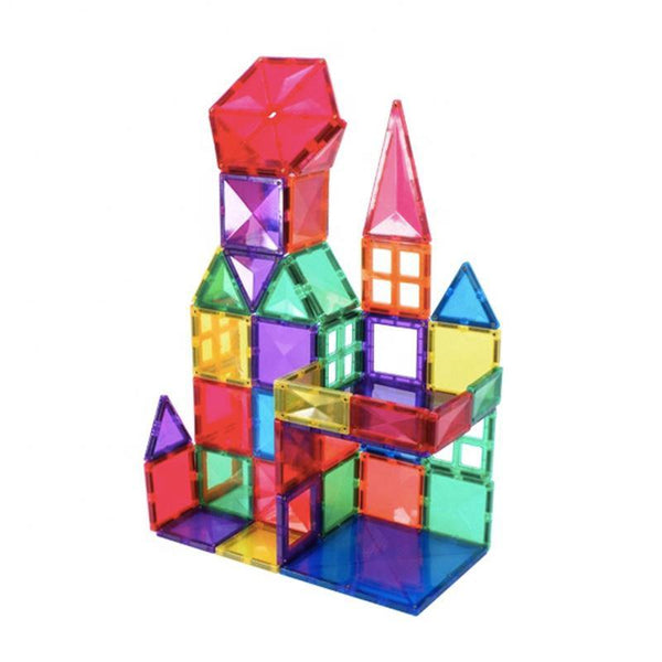 Magnetic Tiles 100-Piece Bevelled Diamond by Fifth Avenue Kids - Fifth Avenue Kids, subsidiary of Frockalicious