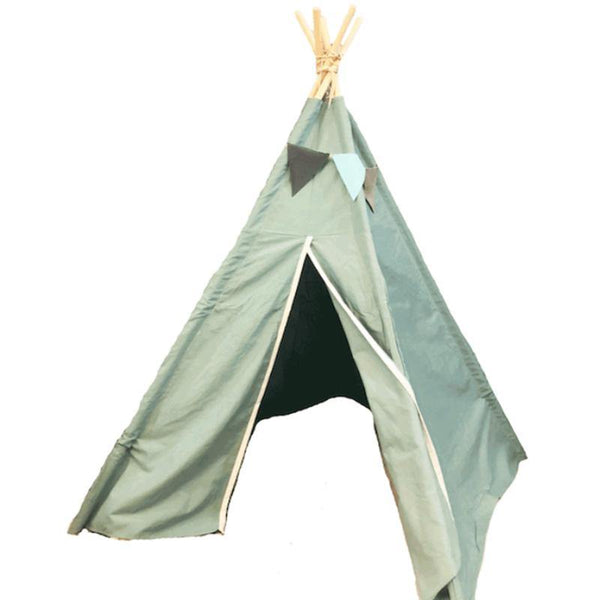 Nevada Mint Green Square 4-sided Teepee