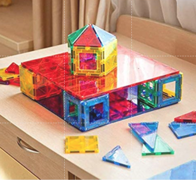 2-piece Base Plates Magnetic Tiles from Fifth Avenue Kids - Fifth Avenue Kids, subsidiary of Frockalicious