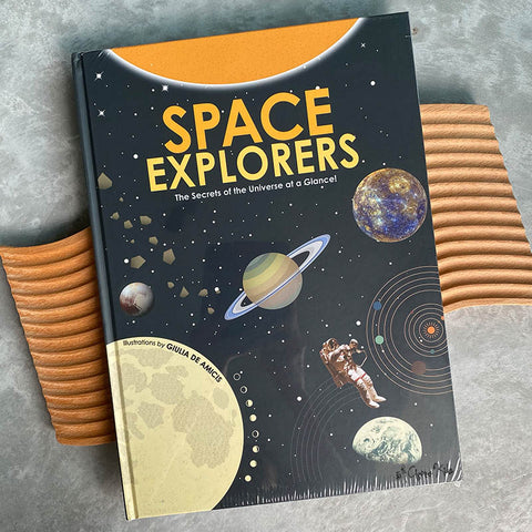 Space Explorers: The Secrets of the Universe at a Glance! by Giulia De Amicis