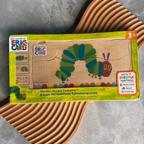 The Very Hungry Caterpillar Layered Wooden Jigsaw Puzzle