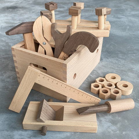 Wooden Tools Pretend Play Heirloom Toy