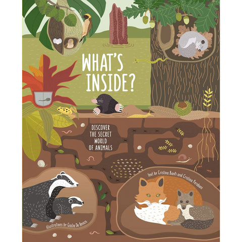 What's Inside: Discover the Secret World of Animals by Cristina Banfi Hardcover