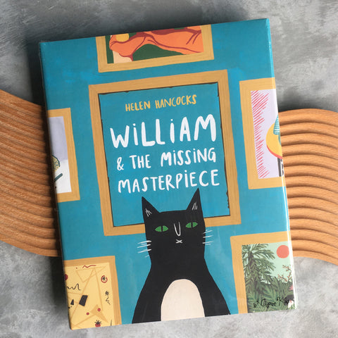 William & the Missing Masterpiece by Helen Hancocks (Hardcover)