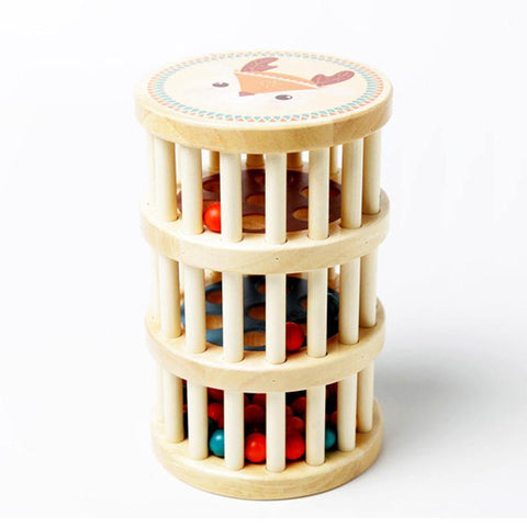 Wooden Rain Maker Toy - Fifth Avenue Kids, subsidiary of Frockalicious