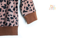 Load image into Gallery viewer, Leopard Print Satin Sweater Top