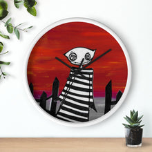 Load image into Gallery viewer, Goblin Wall clock | Art by Ravenmea