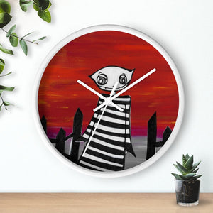 Goblin Wall clock | Art by Ravenmea