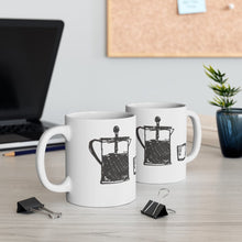 Load image into Gallery viewer, Routine Mug 11oz | Art by Green Camel Press