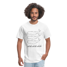 Load image into Gallery viewer, Whale Whale Whale Unisex Classic T-Shirt - white