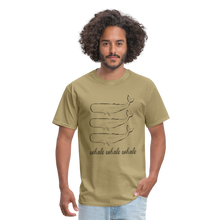 Load image into Gallery viewer, Whale Whale Whale Unisex Classic T-Shirt - khaki