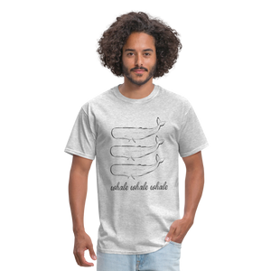 Whale Whale Whale Unisex Classic T-Shirt - heather gray