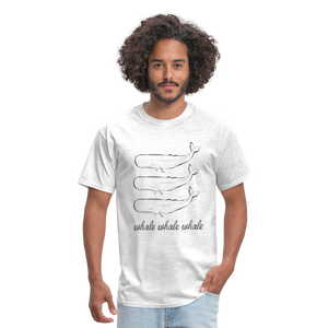 Whale Whale Whale Unisex Classic T-Shirt - light heather gray