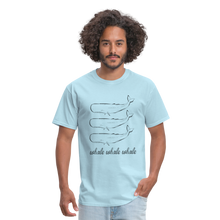 Load image into Gallery viewer, Whale Whale Whale Unisex Classic T-Shirt - powder blue