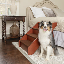 Load image into Gallery viewer, CozyUp™ Folding Wooden Pet Steps