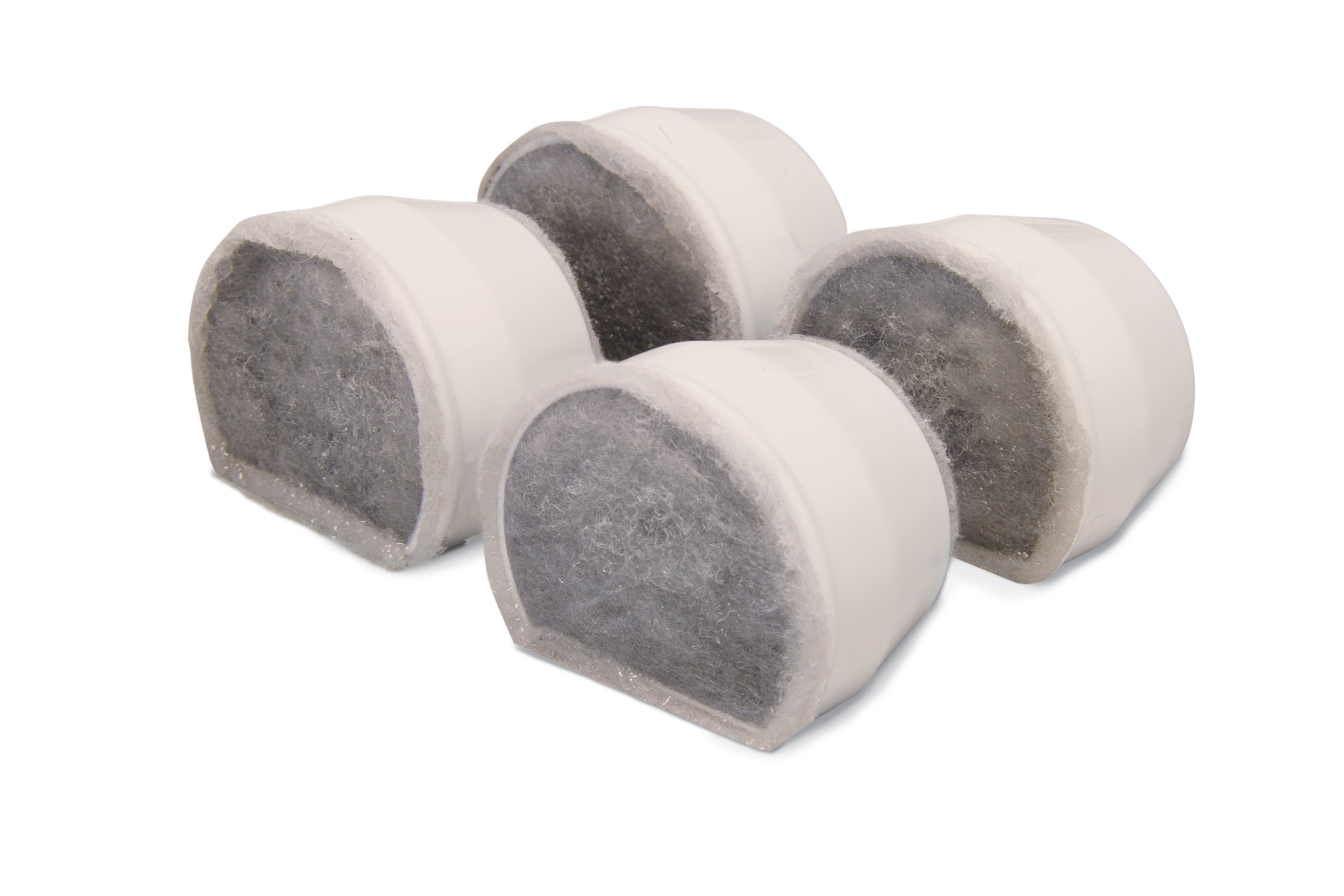 Drinkwell® Ceramic Fountains Replacement Charcoal Filters (4-Pack)