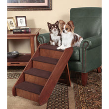 Load image into Gallery viewer, PupSTEP Wood Stairs (Large)