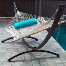 Load image into Gallery viewer, 15ft Arc Aluminum Hammock Stand - Oil Rubbed Bronze