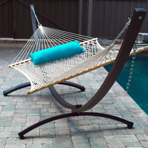 15ft Arc Aluminum Hammock Stand - Oil Rubbed Bronze